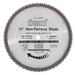 "Freud LU89M015 15"" Diameter x 108T TCG Industrial Thick Non-Ferrous Metal Carbide-Tipped Saw Blade"