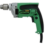 "Hitachi D10VF 3/8"" Drill, 0-3,000 RPM, 9.0 AMP"