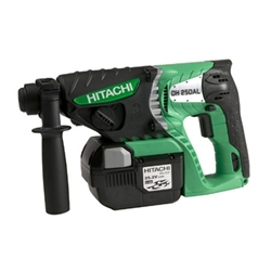 Hitachi DH25DAL 25.2V 3.0Ah Lithium Ion SDS Plus Rotary Hammer