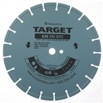 "Husqvarna 542774249 14"" (356) x .187 x 1DP - 20mm B GH Dri Disc Diamond Blade (GH5)"