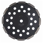 Husqvarna Construction Products 542774840 4 x 5/8-11 LW1 Dri Discs, Diamond Grinding Disc's