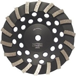 Husqvarna Construction Products 542774845 7 5/8-11 LW Turbo Dri Discs Segmented Turbo Grinding Disc