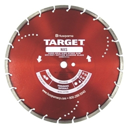 "Husqvarna 542776454 14"" (305) x .125 x 1 DP - 20mm B Diamond Blade (NXS Metal Cutting)"