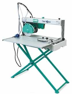 "Imer Combicut 250VA/1000* 10"" Tile & Stone Saw 1-3/4hp 110v w/ 40"" cut & laser guide - tilts to 45o"
