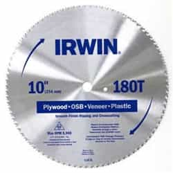 "Irwin 11670 10"" x 80T Hollow Ground Planer, 5/8"" Arbor"
