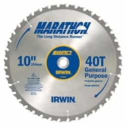 "Irwin 14070 10"" x 40T General Purpose, 5/8"" Arbor"