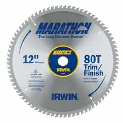 "Irwin 14083 12"" x 80T Trim/Finish"