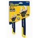 "Irwin 2078700 2 Pc. Adjustable Wrench Set - 6"" & 10"""