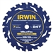 "Irwin 24035 7-1/4"" 24T with Welded Carbide, Universal Arbor - Bulk"