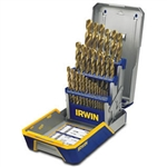 Irwin 3018003 29 Pc. Drill Bit Industrial Set Cas - Metal Twist Drilling
