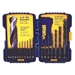 Irwin 314018 Drill Bit 18 Pc. Black Oxide Set - Metal Twist Drilling