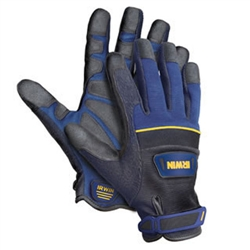 Irwin 432001 Heavy Duty Jobsite Gloves - L - Worksite Products