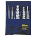 Irwin 52425 Spiral Flute Screw Extractors - 535/524 Series Set