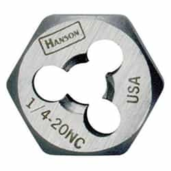 "Irwin 7240 7/16"" - 20 Nf, Hcs Rethread Die - B - Tap Die Extraction"