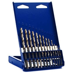 Irwin 73137 15-Piece High Speed Steel Drill Bit Sets With Turbo Point Tip