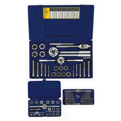 Irwin 66-pc Machine Screw / Fractional & Hex Die Set - 97606