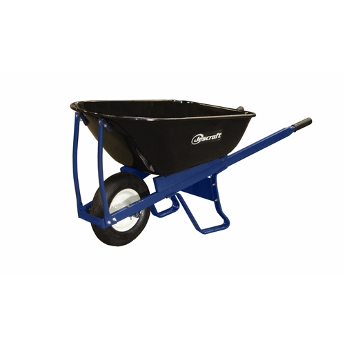 "Jescraft SWK-610FFA Wheelbarrow Kit - Single Wheel With 16"" Flat Free Tire (Assembled)"