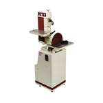 Jet 414551 J-4200A, 6 x 48 Industrial Combination Belt and Disc Finishing Machine 115V 1Ph