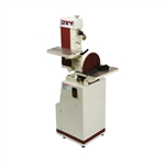 Jet 414552 J-4200A-2, 6 x 48 Industrial Combination Belt and Disc Finishing Machine 230V 1Ph