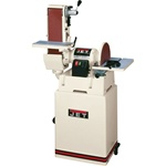 "JSG-6CS 6""x48"" Belt/12"" Disc w/ Closed Stand"