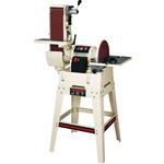 "JET JSG-6DCK, 6"" x 48"" Belt / 12"" Disc Sander with Open Stand"