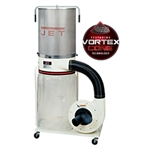 Jet 708659K DC-1100VX-CK Dust Collector, 1.5HP 1PH 115/230V, Kit