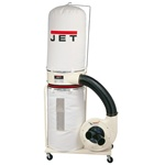 Jet 710701k Dc-1200 Jet Dust Collector With Bag Kit, 2Hp, 1Ph, 230V