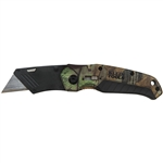 Klein 44135 Folding Utility Knife Camo Assisted-Open