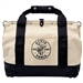 Klein Tools 5003-18 18'' (457 mm) Pocket Canvas Tool Bag  with Leather Bottom