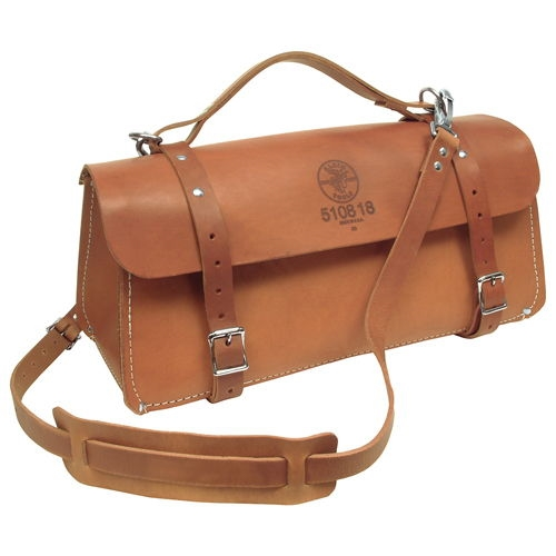 Klein Tools 5108-18 18'' (457 mm) Deluxe Leather Bag