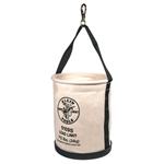 Klein Tools 5109S Wide-Opening Straight-Wall Bucket - Swivel Snap