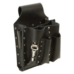 Klein Tools 5164T 8-Pocket Tool Pouch - Tunnel Loop