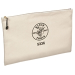 Klein Tools 5336 Contractor's Zipper Portfolio-Canvas