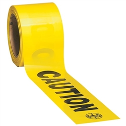 Klein Tools 58001 Barricade and Warning Tapes - CAUTION- 1000' (304.8 m)