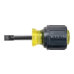 Klein Tools 600-1 1/4'' (6 mm) Keystone-Tip Screwdriver  1-1/2'' (38 mm) Heavy-Duty Round-Shank