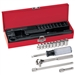 Klein Tools 65500 13-Piece, 1/4-Inch Drive Socket Wrench Set
