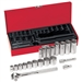 Klein Tools 65508 20-Piece 3/8-Inch Drive Socket Wrench Set