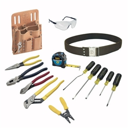 Klein Tools 80014 14-Piece Electrician Tool Set