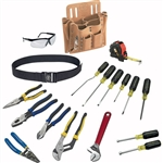 Klein Tools 80118 18-Piece Journeyman Tool Set