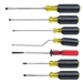 Klein Tools 85077 7-Piece Multiple-Application Screwdriver Set