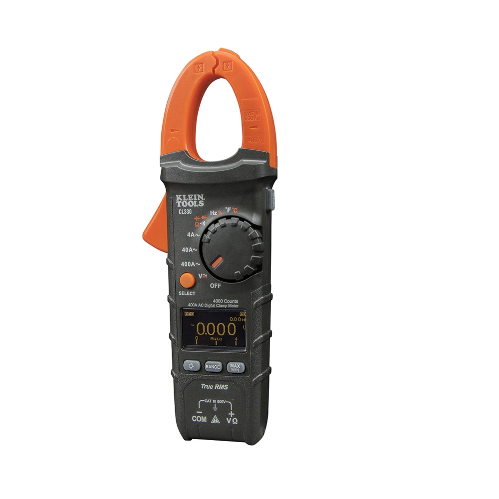 Ac Clamp Meter : Klein tools cl a ac auto ranging digital clamp meter