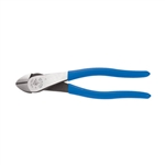 Klein Tools D2000-48 8'' (203 mm) High-Leverage Diagonal-Cutting Pliers - Angled Head, Heavy-Duty Cutting