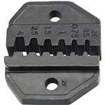 VDV205-039 - Klein Die Set for VDV200-010 - INS. Pin Term. or Non-INS Ferrules 12-22 AWG