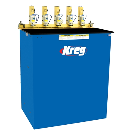 Kreg DK5100 5-Spindle Pneumatic Pocket Hole Machine