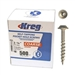 "Kreg SML-C125-500 Pocket Screws - 1-1/4"", #8 Coarse, Washer-Head, 500ct"