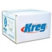 "Kreg SML-C250B-2000 Blue-Kote WR Pocket Screws - 2-1/2"", #8 Crse, Washer-Head, 2000ct"