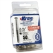 "Kreg 305 Stainless Steel Pocket Screws - 2-1/2"", #10 Crse, Washer-Head, 50ct"