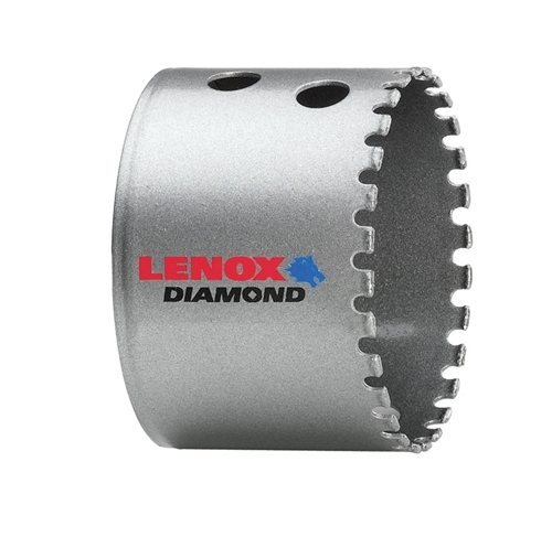 "Lenox 1212040DGHS 2-1/2"" Diamond Grit Holesaws for Tile and Stone"