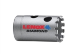 "Lenox 1225618DGH 1-1/8"" Diamond Grit Holesaws for Tile and Stone"