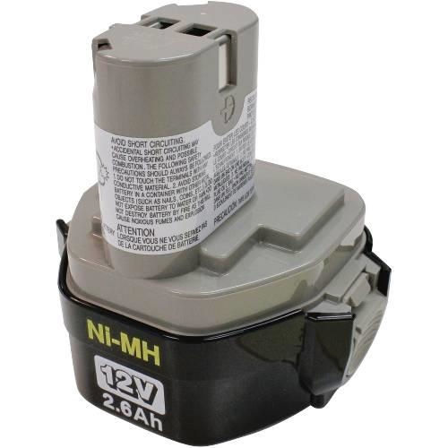 Makita Tools 193157-5 12V (2.6Ah) Ni-Mh Pod Battery 1234